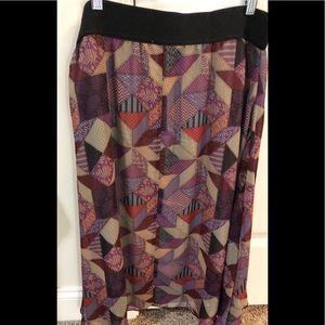 Large Lularoe Chiffon skirt